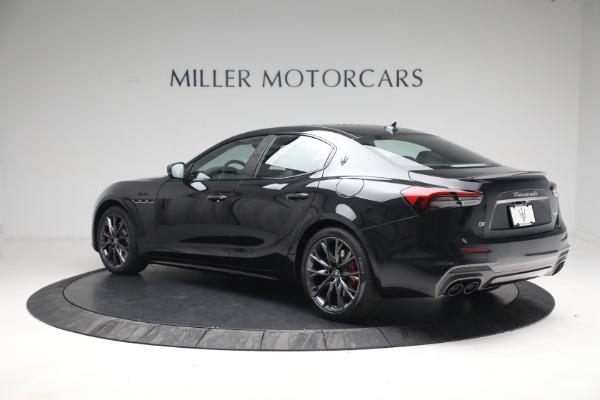 New 2022 Maserati Ghibli Modena Q4 for sale $103,855 at Bugatti of Greenwich in Greenwich CT 06830 4