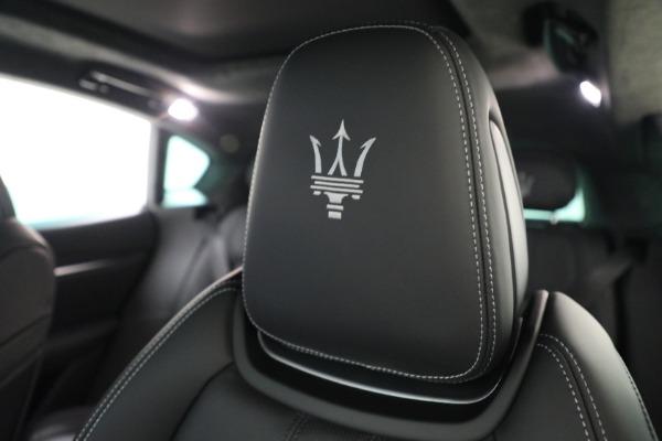 New 2022 Maserati Levante Modena for sale $108,775 at Bugatti of Greenwich in Greenwich CT 06830 19