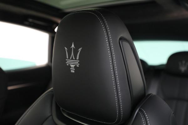New 2022 Maserati Levante Modena for sale $108,475 at Bugatti of Greenwich in Greenwich CT 06830 16