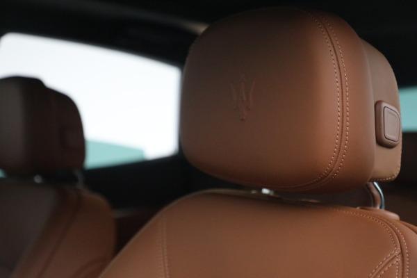New 2022 Maserati Levante Modena for sale $104,545 at Bugatti of Greenwich in Greenwich CT 06830 16