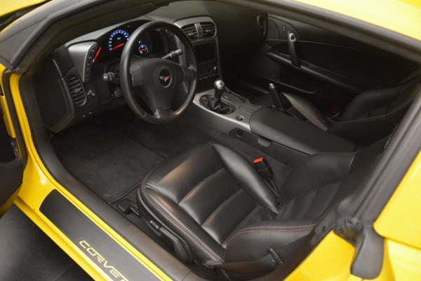 Used 2006 Chevrolet Corvette Z06 Hardtop for sale Sold at Bugatti of Greenwich in Greenwich CT 06830 11