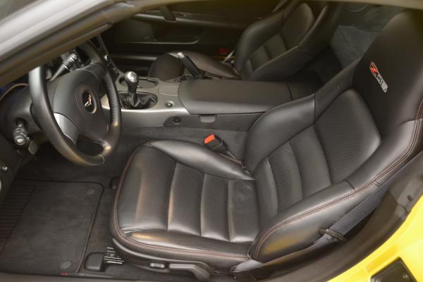 Used 2006 Chevrolet Corvette Z06 Hardtop for sale Sold at Bugatti of Greenwich in Greenwich CT 06830 13
