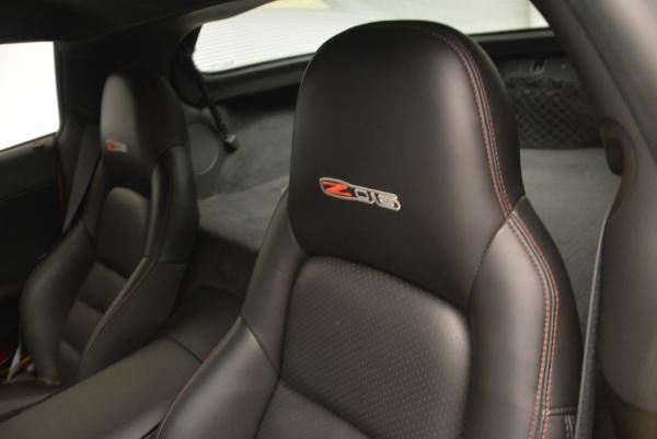 Used 2006 Chevrolet Corvette Z06 Hardtop for sale Sold at Bugatti of Greenwich in Greenwich CT 06830 14