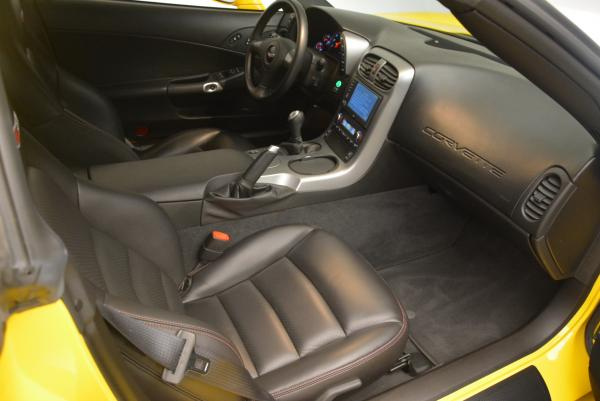 Used 2006 Chevrolet Corvette Z06 Hardtop for sale Sold at Bugatti of Greenwich in Greenwich CT 06830 15