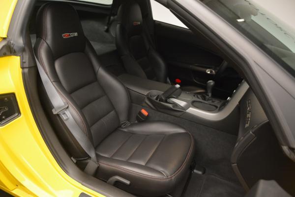Used 2006 Chevrolet Corvette Z06 Hardtop for sale Sold at Bugatti of Greenwich in Greenwich CT 06830 17