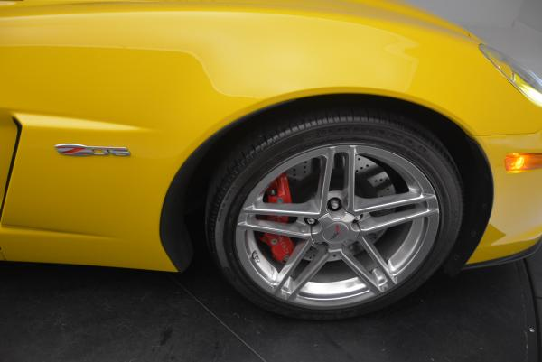 Used 2006 Chevrolet Corvette Z06 Hardtop for sale Sold at Bugatti of Greenwich in Greenwich CT 06830 18