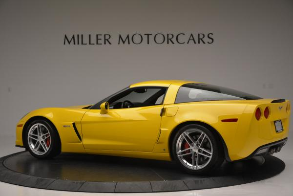 Used 2006 Chevrolet Corvette Z06 Hardtop for sale Sold at Bugatti of Greenwich in Greenwich CT 06830 4