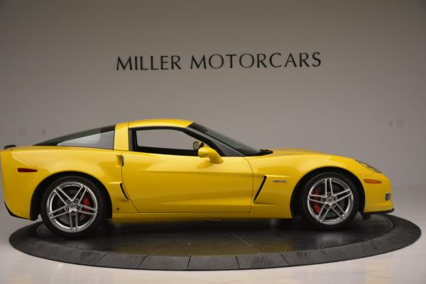 Used 2006 Chevrolet Corvette Z06 Hardtop for sale Sold at Bugatti of Greenwich in Greenwich CT 06830 8