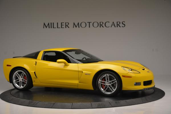 Used 2006 Chevrolet Corvette Z06 Hardtop for sale Sold at Bugatti of Greenwich in Greenwich CT 06830 9
