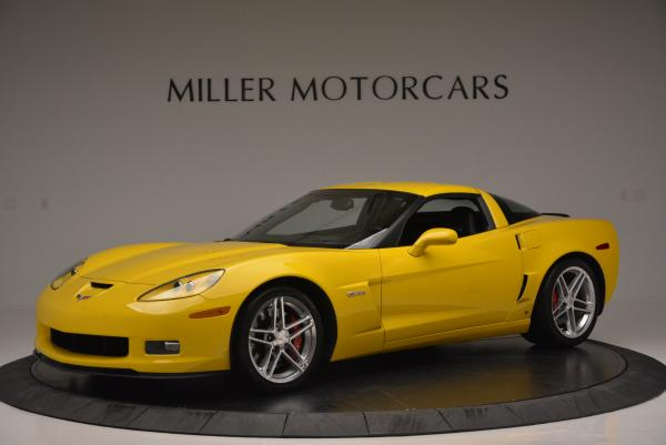 Used 2006 Chevrolet Corvette Z06 Hardtop for sale Sold at Bugatti of Greenwich in Greenwich CT 06830 1