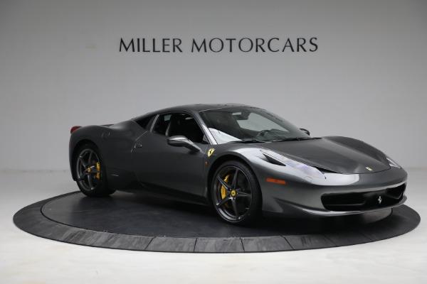Used 2011 Ferrari 458 Italia for sale $229,900 at Bugatti of Greenwich in Greenwich CT 06830 10