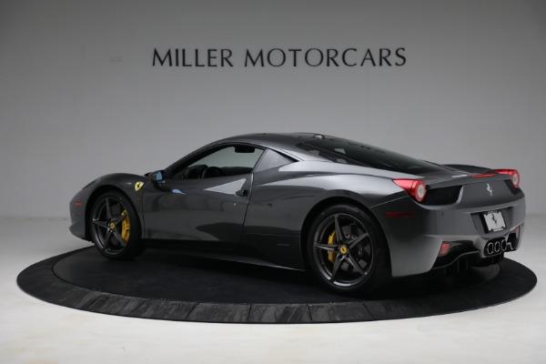 Used 2011 Ferrari 458 Italia for sale $229,900 at Bugatti of Greenwich in Greenwich CT 06830 4