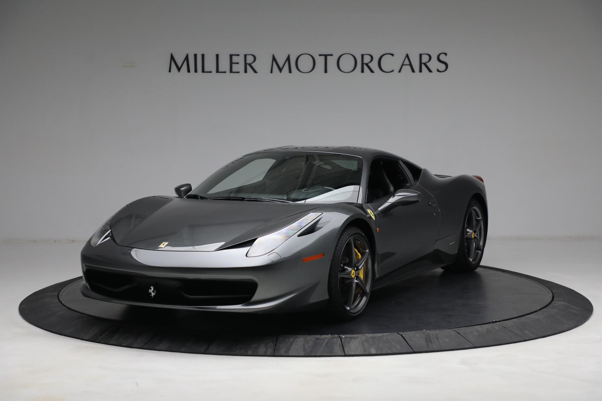 Used 2011 Ferrari 458 Italia for sale $229,900 at Bugatti of Greenwich in Greenwich CT 06830 1