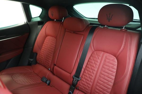 New 2022 Maserati Levante Modena for sale $113,375 at Bugatti of Greenwich in Greenwich CT 06830 15