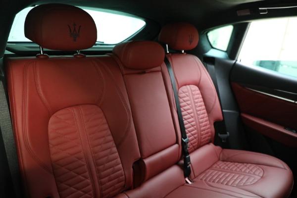 New 2022 Maserati Levante Modena for sale $113,375 at Bugatti of Greenwich in Greenwich CT 06830 17