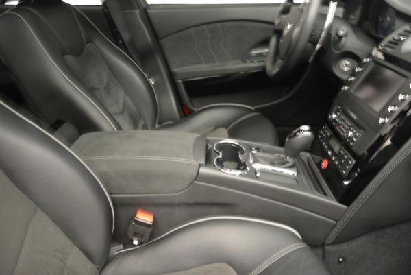 Used 2011 Maserati Quattroporte Sport GT S for sale Sold at Bugatti of Greenwich in Greenwich CT 06830 23