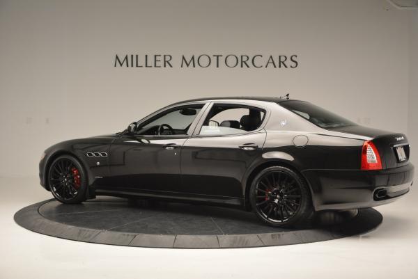 Used 2011 Maserati Quattroporte Sport GT S for sale Sold at Bugatti of Greenwich in Greenwich CT 06830 4