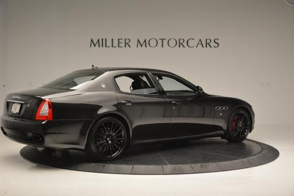 Used 2011 Maserati Quattroporte Sport GT S for sale Sold at Bugatti of Greenwich in Greenwich CT 06830 8