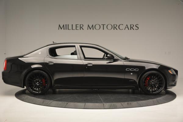 Used 2011 Maserati Quattroporte Sport GT S for sale Sold at Bugatti of Greenwich in Greenwich CT 06830 9