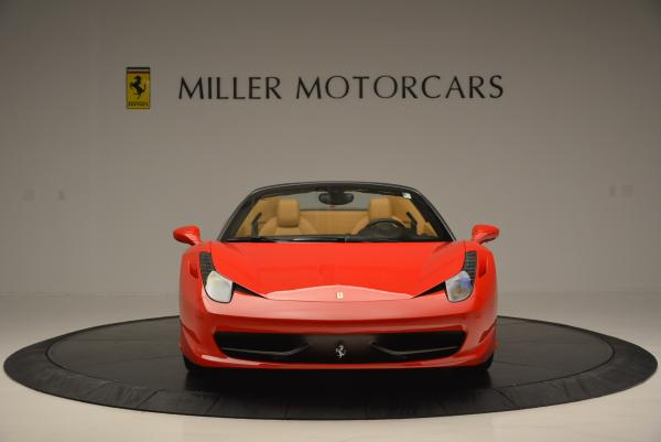 Used 2013 Ferrari 458 Spider for sale Sold at Bugatti of Greenwich in Greenwich CT 06830 12