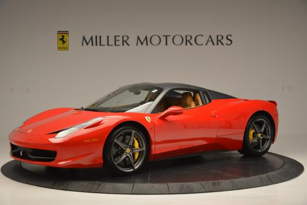 Used 2013 Ferrari 458 Spider for sale Sold at Bugatti of Greenwich in Greenwich CT 06830 14
