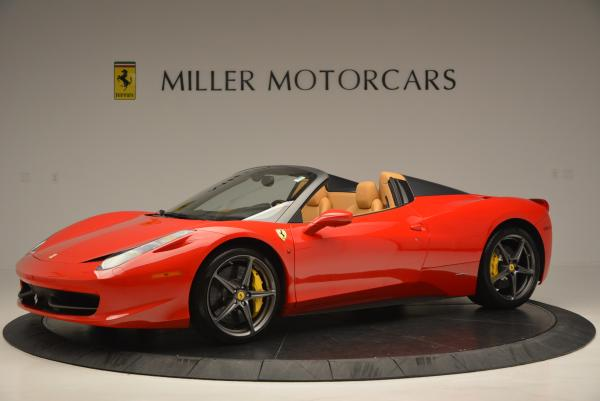 Used 2013 Ferrari 458 Spider for sale Sold at Bugatti of Greenwich in Greenwich CT 06830 2