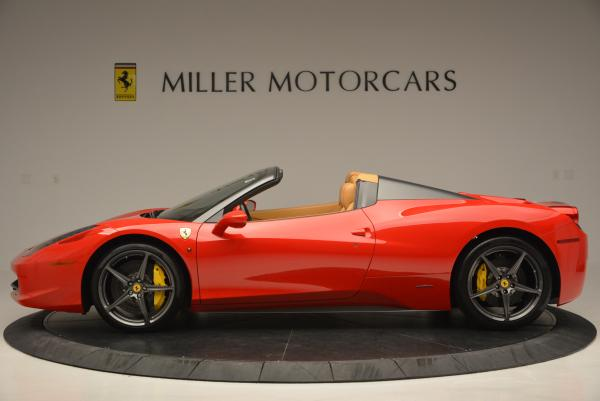 Used 2013 Ferrari 458 Spider for sale Sold at Bugatti of Greenwich in Greenwich CT 06830 3