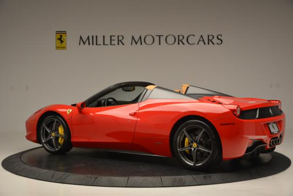 Used 2013 Ferrari 458 Spider for sale Sold at Bugatti of Greenwich in Greenwich CT 06830 4