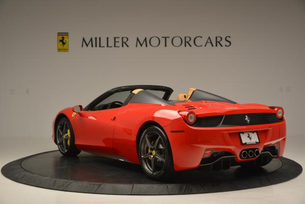 Used 2013 Ferrari 458 Spider for sale Sold at Bugatti of Greenwich in Greenwich CT 06830 5