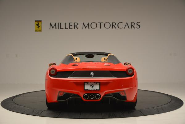 Used 2013 Ferrari 458 Spider for sale Sold at Bugatti of Greenwich in Greenwich CT 06830 6
