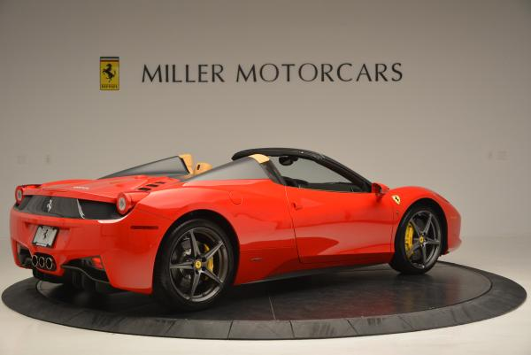 Used 2013 Ferrari 458 Spider for sale Sold at Bugatti of Greenwich in Greenwich CT 06830 8