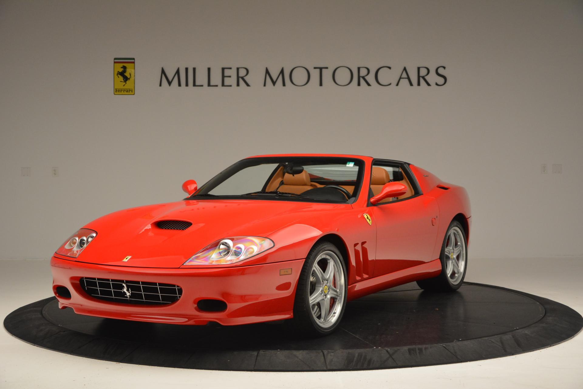 Used 2005 Ferrari Superamerica for sale Sold at Bugatti of Greenwich in Greenwich CT 06830 1