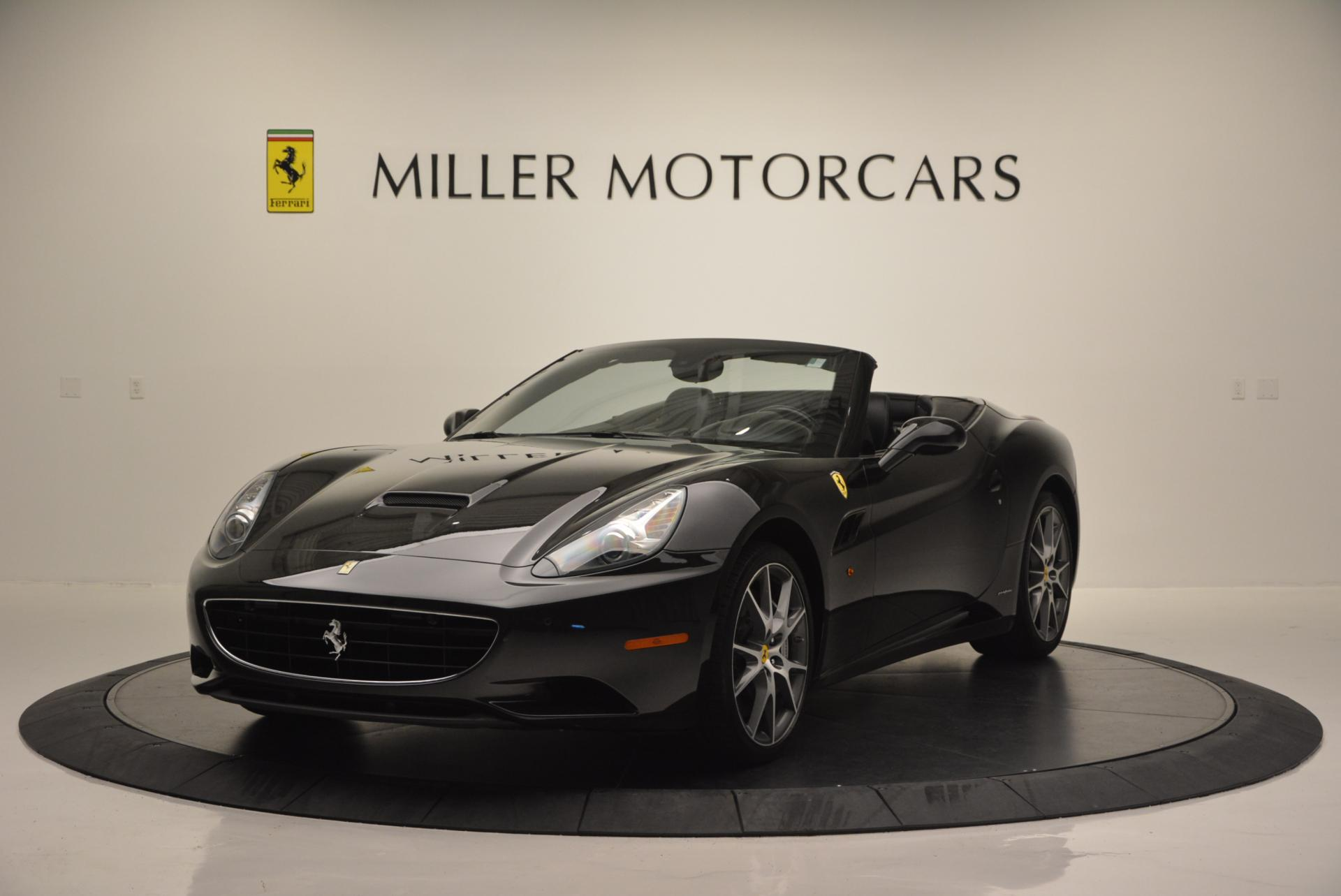 Used 2012 Ferrari California for sale Sold at Bugatti of Greenwich in Greenwich CT 06830 1
