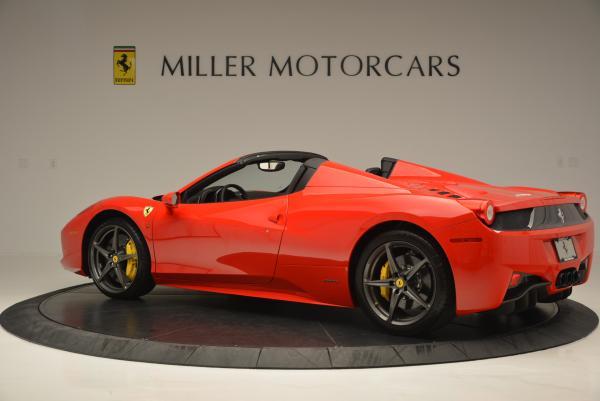 Used 2015 Ferrari 458 Spider for sale Sold at Bugatti of Greenwich in Greenwich CT 06830 4