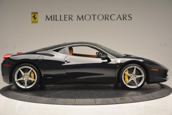 Used 2010 Ferrari 458 Italia for sale Sold at Bugatti of Greenwich in Greenwich CT 06830 9