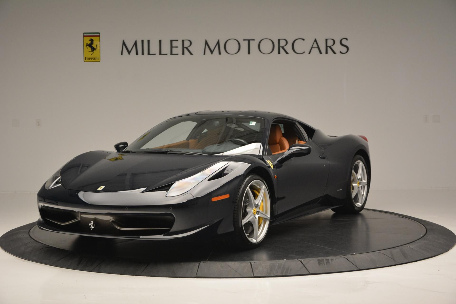 Used 2010 Ferrari 458 Italia for sale Sold at Bugatti of Greenwich in Greenwich CT 06830 1