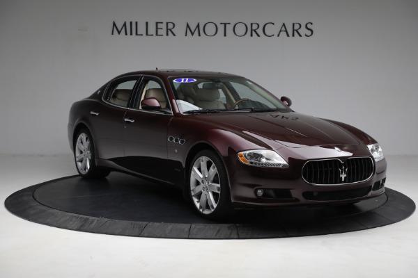 Used 2011 Maserati Quattroporte for sale $37,900 at Bugatti of Greenwich in Greenwich CT 06830 12