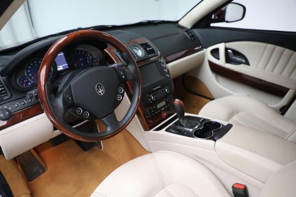 Used 2011 Maserati Quattroporte for sale $37,900 at Bugatti of Greenwich in Greenwich CT 06830 14