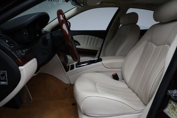 Used 2011 Maserati Quattroporte for sale $37,900 at Bugatti of Greenwich in Greenwich CT 06830 15