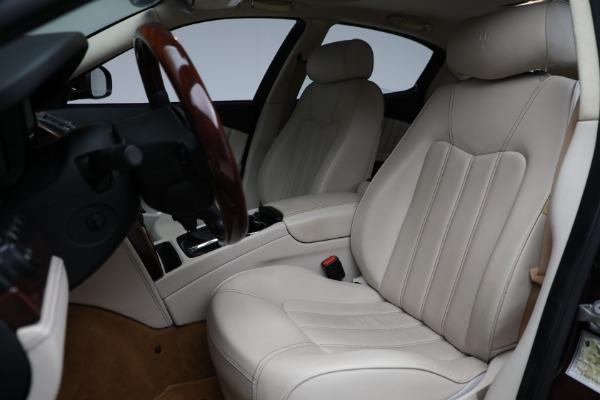 Used 2011 Maserati Quattroporte for sale $37,900 at Bugatti of Greenwich in Greenwich CT 06830 16