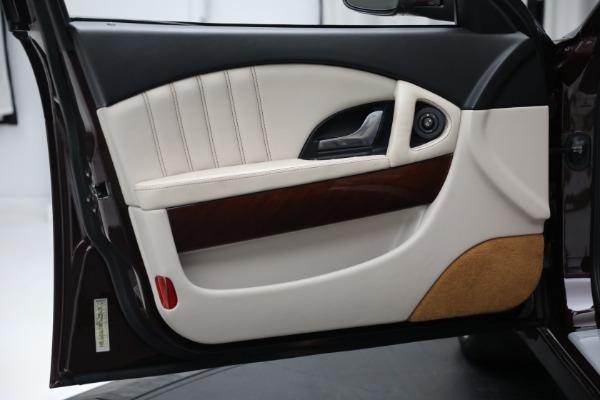 Used 2011 Maserati Quattroporte for sale $37,900 at Bugatti of Greenwich in Greenwich CT 06830 17