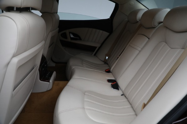 Used 2011 Maserati Quattroporte for sale $37,900 at Bugatti of Greenwich in Greenwich CT 06830 19