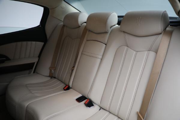 Used 2011 Maserati Quattroporte for sale $37,900 at Bugatti of Greenwich in Greenwich CT 06830 20