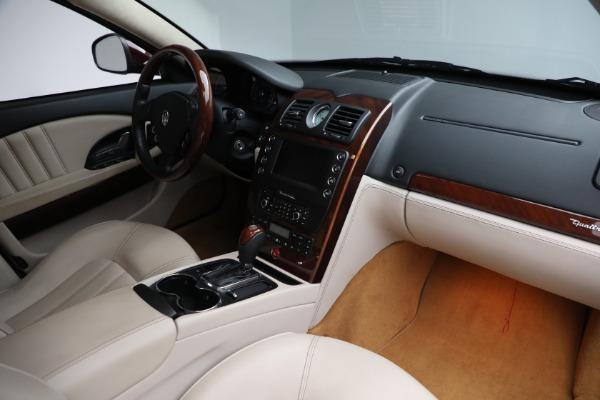 Used 2011 Maserati Quattroporte for sale $37,900 at Bugatti of Greenwich in Greenwich CT 06830 22