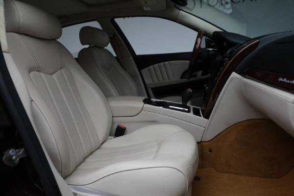 Used 2011 Maserati Quattroporte for sale $37,900 at Bugatti of Greenwich in Greenwich CT 06830 23