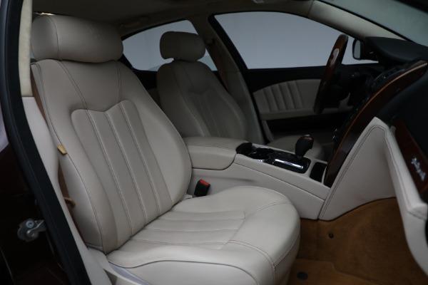 Used 2011 Maserati Quattroporte for sale $37,900 at Bugatti of Greenwich in Greenwich CT 06830 24