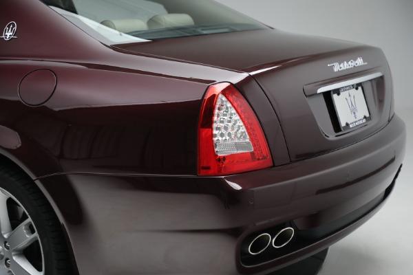 Used 2011 Maserati Quattroporte for sale $37,900 at Bugatti of Greenwich in Greenwich CT 06830 25
