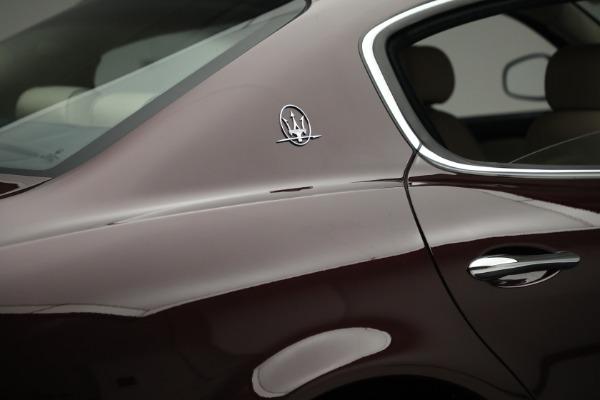 Used 2011 Maserati Quattroporte for sale $37,900 at Bugatti of Greenwich in Greenwich CT 06830 26