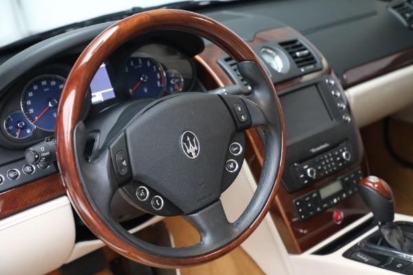 Used 2011 Maserati Quattroporte for sale $37,900 at Bugatti of Greenwich in Greenwich CT 06830 27