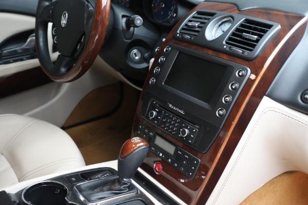 Used 2011 Maserati Quattroporte for sale $37,900 at Bugatti of Greenwich in Greenwich CT 06830 28